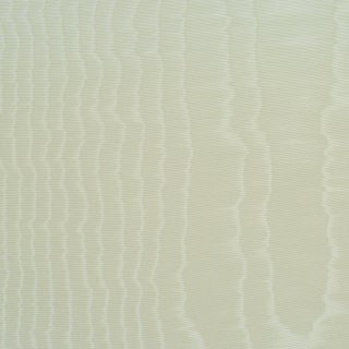Sample - Schumacher Moire Wallpaper in Parchment For Sale