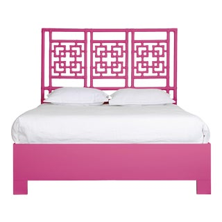 Palm Springs Bed Queen - Bright Pink For Sale