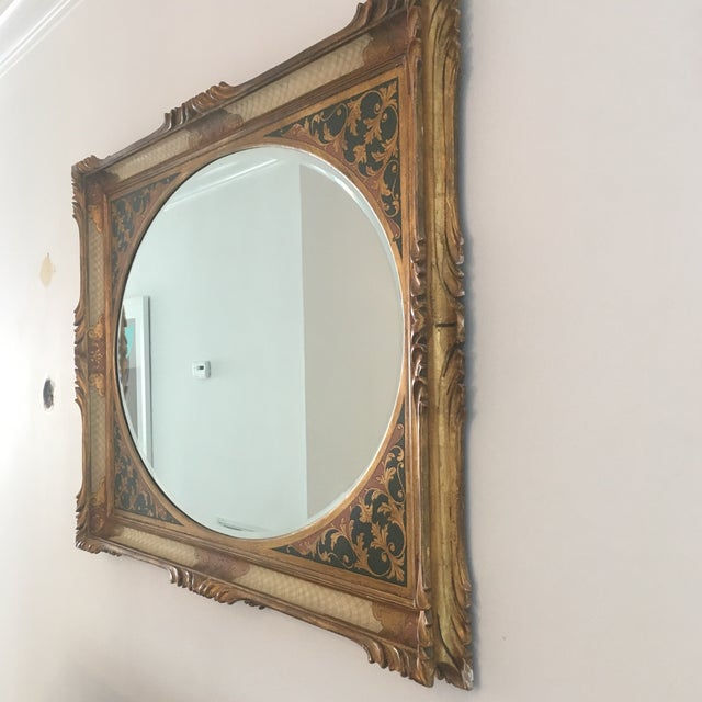 Vintage Ornate Mirror - Image 4 of 7