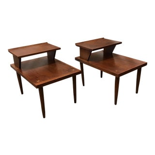 Mid-Century Modern Side Tables by American of Martinsville - a Pair