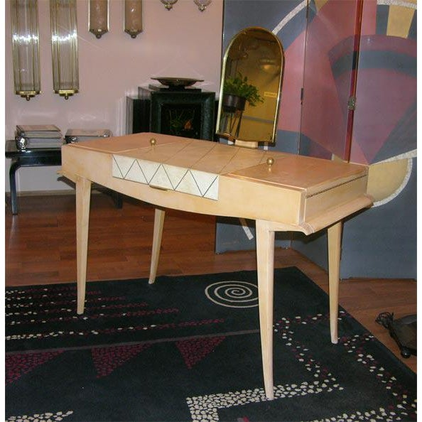 Rare Art Deco Vanity by Maxime Old For Sale - Image 10 of 10
