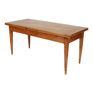 Antique Directoire Style Dining Table For Sale