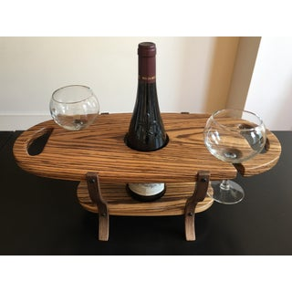 Hand-Crafted Contemporary Wine and Cheese Server Preview