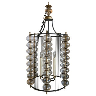 Paul Ferrante Carlyle Pendent Hanging Light Fixture For Sale