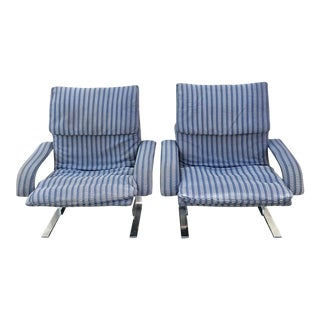 Saporiti Onda Wave Chairs - a Pair
