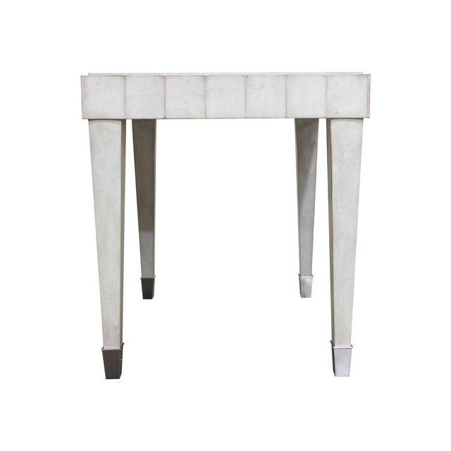 Transitional Fremarc Designs Beverly Side Table For Sale - Image 3 of 6