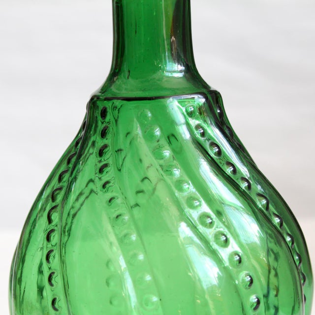 Green Decanter Genie Bottle - Image 4 of 5