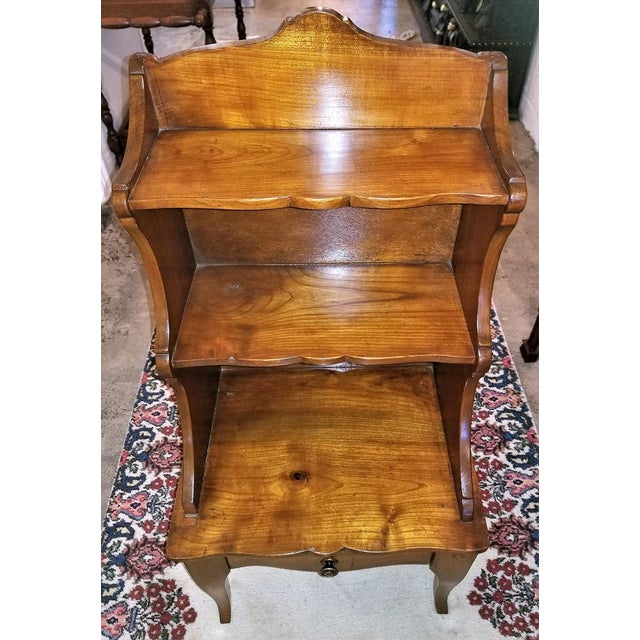 18th Century French Country Cherrywood Side Table or Open Case For Sale In Dallas - Image 6 of 11