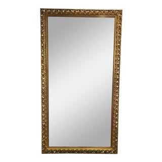 1930s Vintage Gilt Framed Mirror For Sale