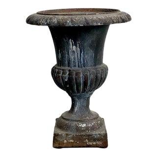 Vintage Iron Urn For Sale