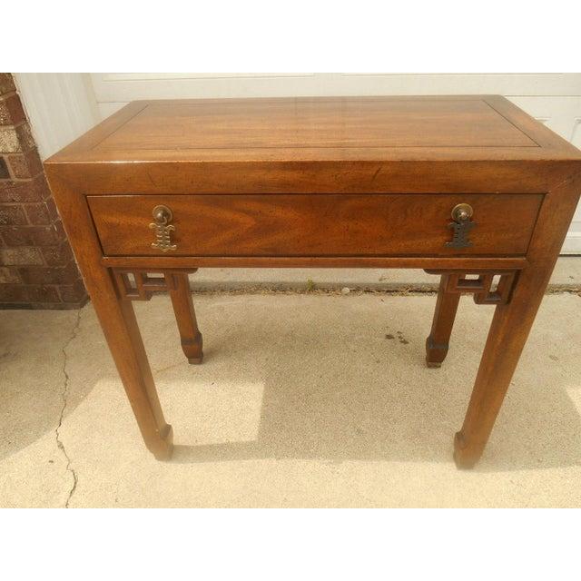 Century Furniture Oriental-Style Lit Curio - Image 5 of 7