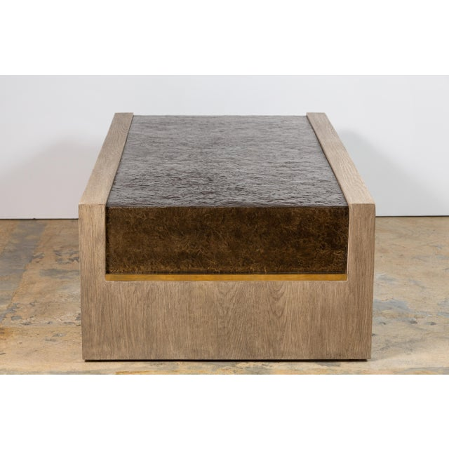 Not Yet Made - Made To Order Modern Paul Marra Waterfall Table For Sale - Image 5 of 10