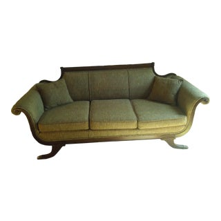 18th Century Duncan Phyfe Sofa Reupholstered For Sale