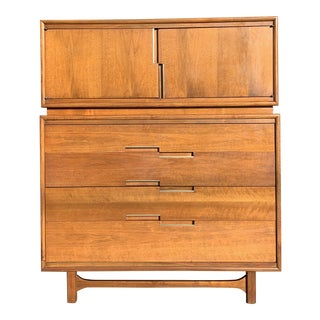 Mid Century Gentlemans Chest by Cavalier Furniture Co. For Sale