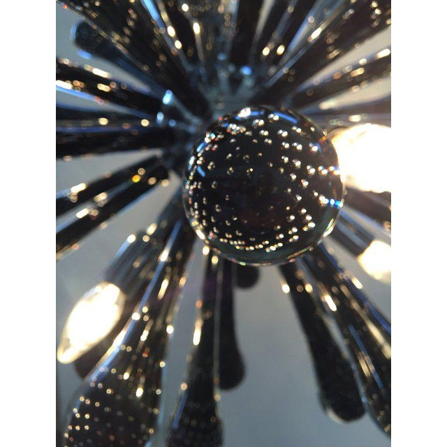 Contemporary Murano Glass Triedo Sputnik Chandelier For Sale - Image 3 of 7