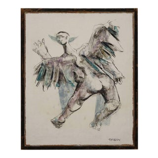 """Icarus"" in the Imagination of Walter Peregoy For Sale"