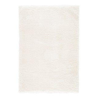 Jaipur Living Katya Solid White Area Rug - 8′ × 10′ For Sale