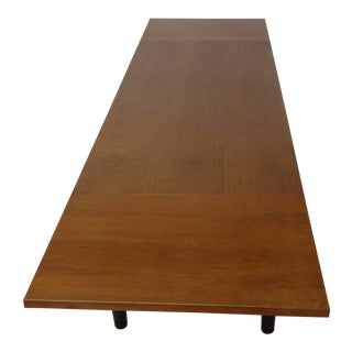 Edward Wormley for Dunbar Drop Leaf Dining Table Desk or Conference Table For Sale
