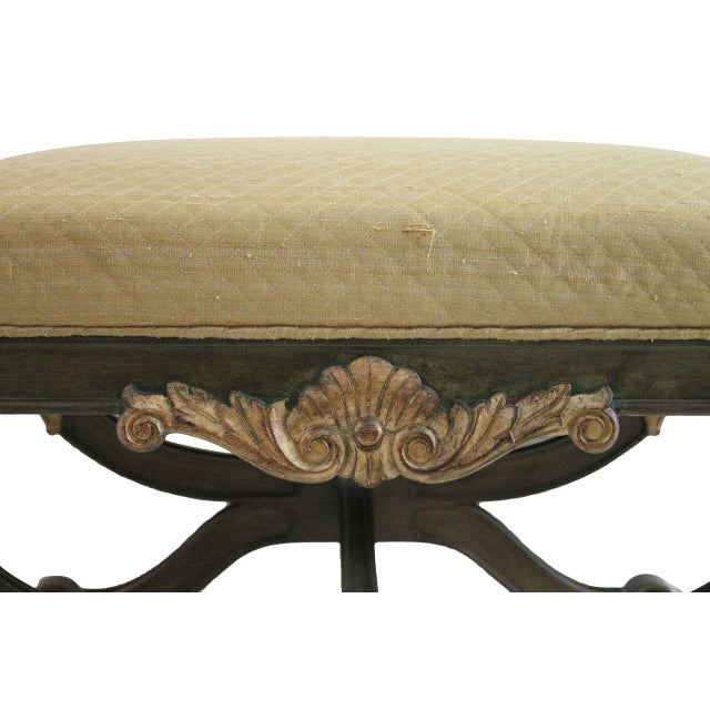 Neoclassical Gilt Benches - Pair - Image 3 of 4