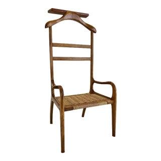 Vintage Mid Century Danish Modern Valet Chair For Sale