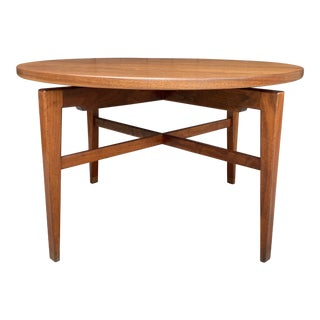 Jens Risom Last Suzan Spinning Game Table For Sale