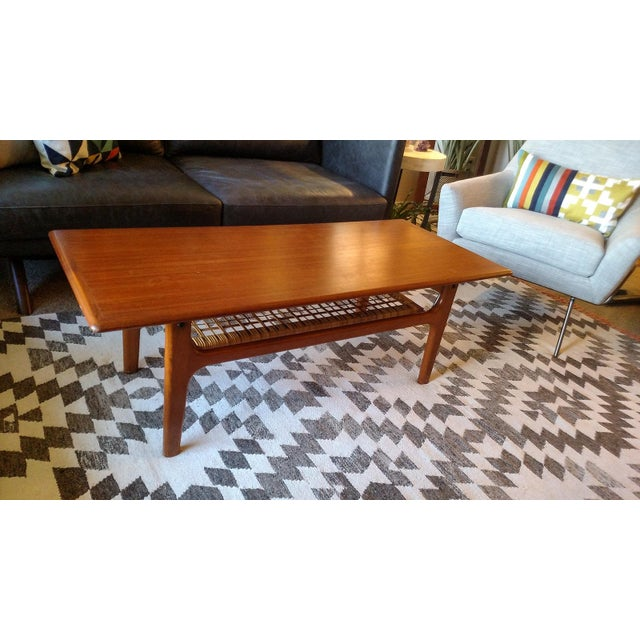Danish 1960s Solid Teak Coffee Table by Trioh - Image 2 of 7