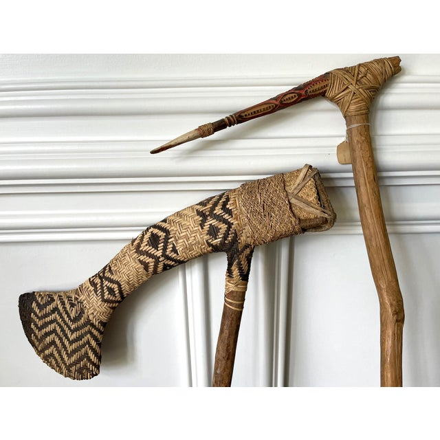 Ceremonial Weapon from Highlands of Papua New Guinea Provenance - A Pair For Sale - Image 10 of 13