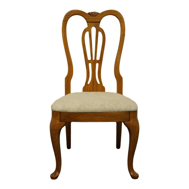 Pennsylvania House Solid Oak Country French Side Chair For Sale