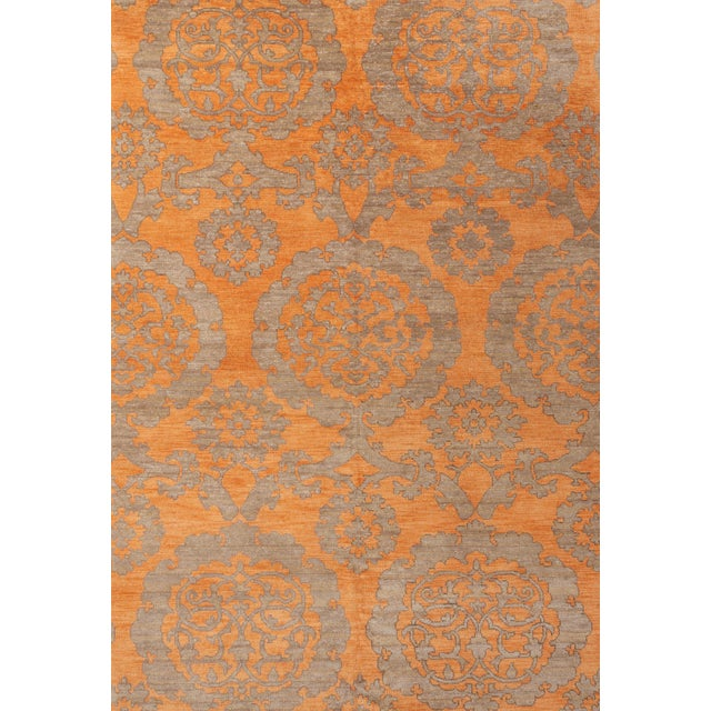 Textile Schumacher Sadri Area Rug in Hand-Knotted Wool, Patterson Flynn Martin For Sale - Image 7 of 7