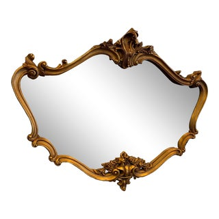 Victorian Style Wall Mirror For Sale