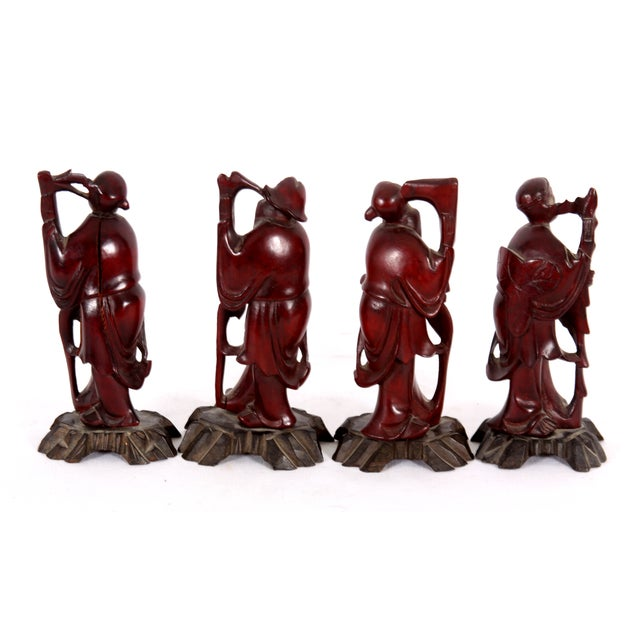 Chinese Immortals - Set of 4 - Image 2 of 7