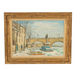 Painting by Alois Lecoque For Sale