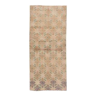 "Apadana - Vintage Khotan Rug, 8'0"" X 3'5"" For Sale"