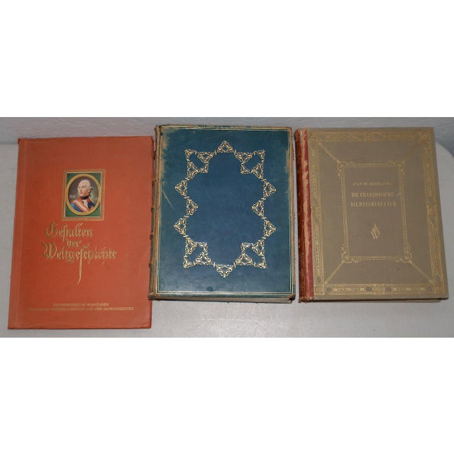 Paper 1920s Lot of Three Rare Books on Portrait Miniatures - Set of 3 For Sale - Image 7 of 7