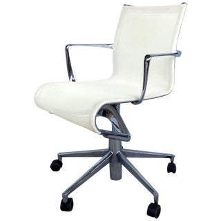 Contemporary Alberto Meda for Alias Rolling Frame Swivel Chair With Armrests For Sale