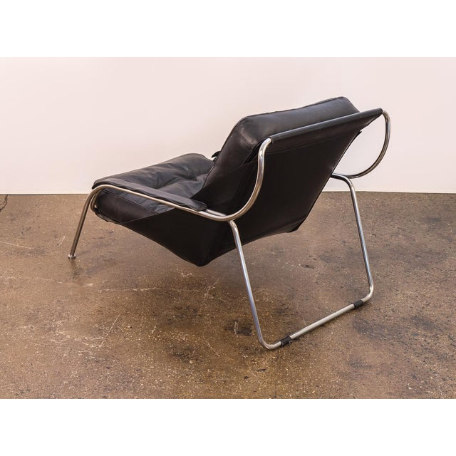 1960s Maggiolina Lounge Chair and Ottoman by Marco Zanuso For Sale - Image 5 of 13