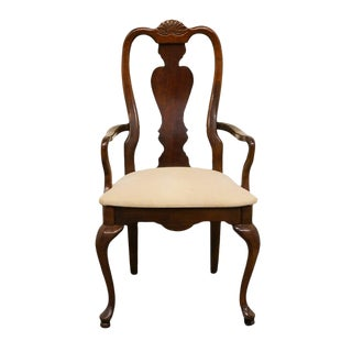 American Drew Cherry Grove Queen Anne Style Dining Arm Chair For Sale
