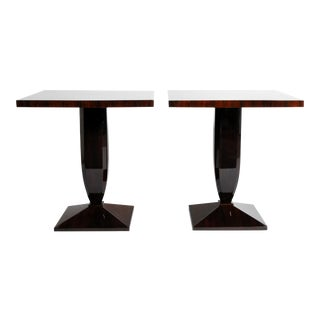 Art Deco Style Square Side Table