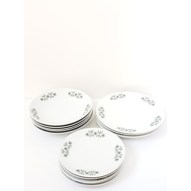 1950s Mid Century Modern Seltmann Weiden Monica Bavarian Porcelain Dinnerware For Sale - Image 5 of 13