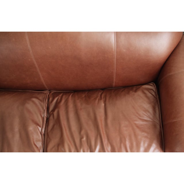 Lillian August Leather Sofa - Image 3 of 7