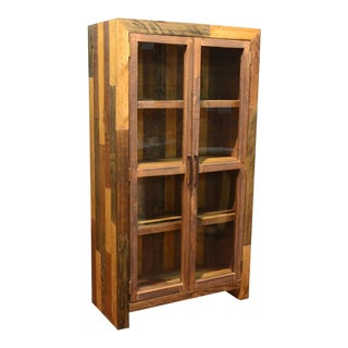 "Crafters and Weavers Fulton Bookcase / China Cabinet - 39""w For Sale"