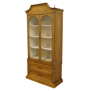 """20th Century Italian American of Martinsville Tuscan 40"""" Curio Display Cabinet Preview"""