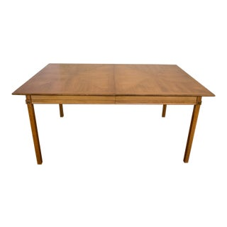 Thomasville Tamerlane Oak Dining Table with Three Leaves