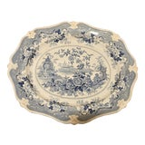 Image of Ridgway Ironstone Platter, Staffordshire, Circa 1820 For Sale