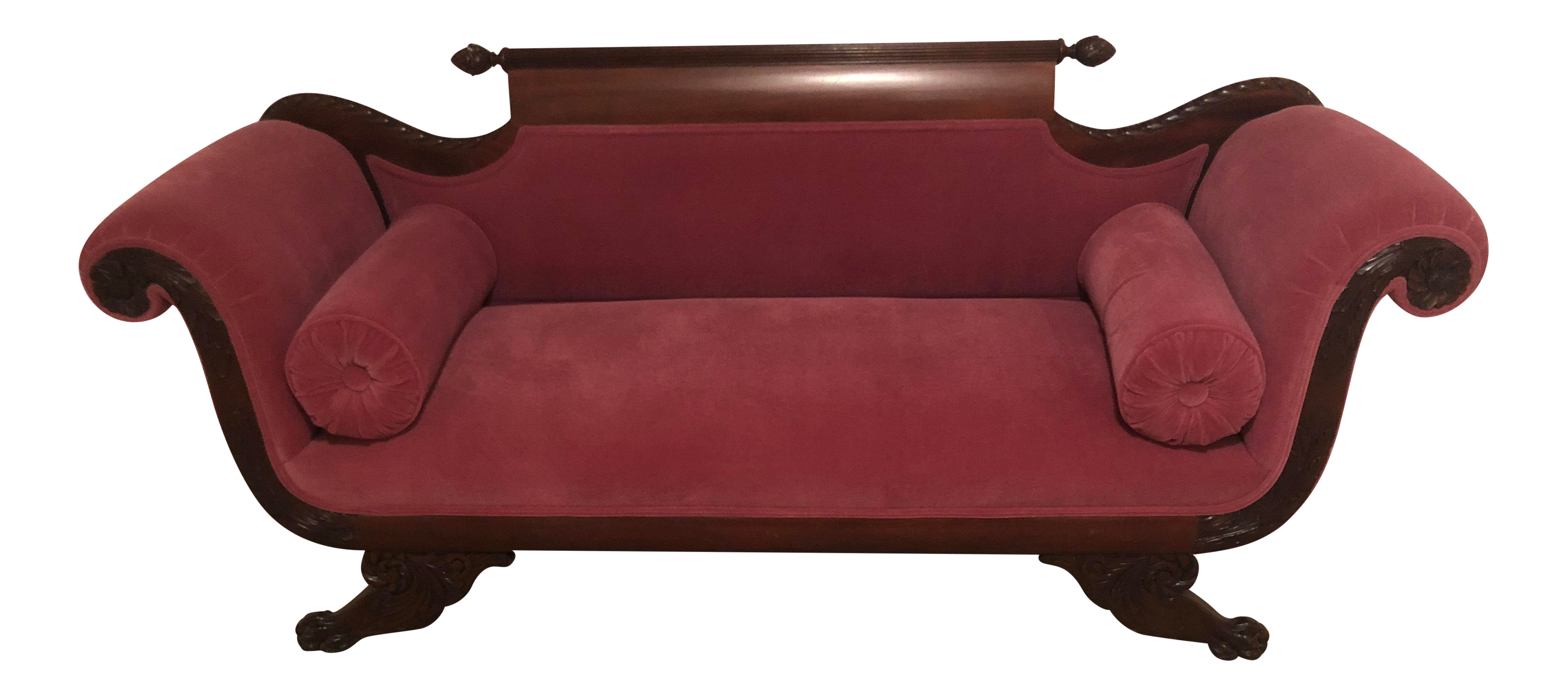 20th Century Vintage Duncan Phyfe Loveseat