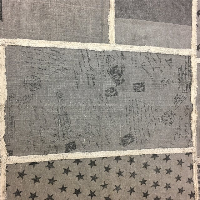 Grey Cotton Woven Rug - 6' X 8' - Image 7 of 8