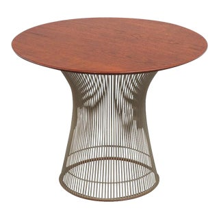 Mid 20th Century Platner Collection for Knoll Wire Side Table For Sale