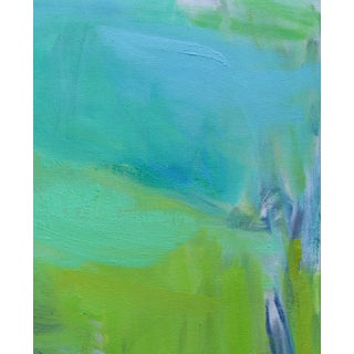 """""""After the Downpour"""" by Trixie Pitts Abstract Expressionist Oil Painting Preview"""