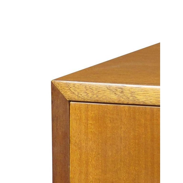 1940s 1940s Scandinavian Cuban Mahogany Chest of Drawers For Sale - Image 5 of 7