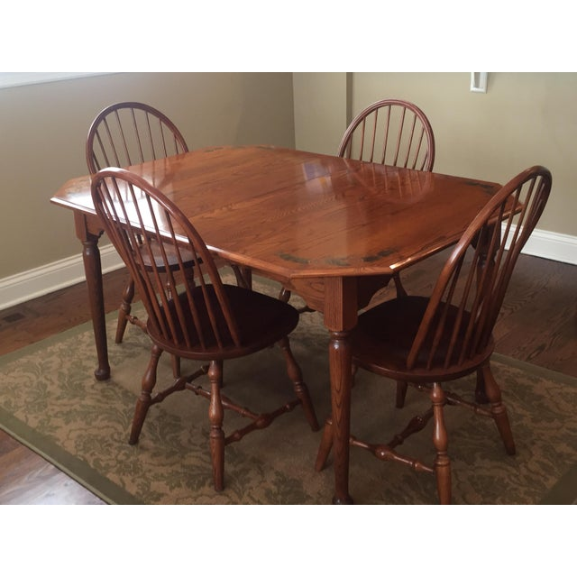 L. Hitchcock Classic Briarcliffe Extension Dining Set For Sale - Image 11 of 11